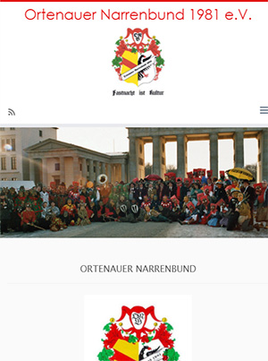 Ortenauer Narrenbund e.V. Homepage